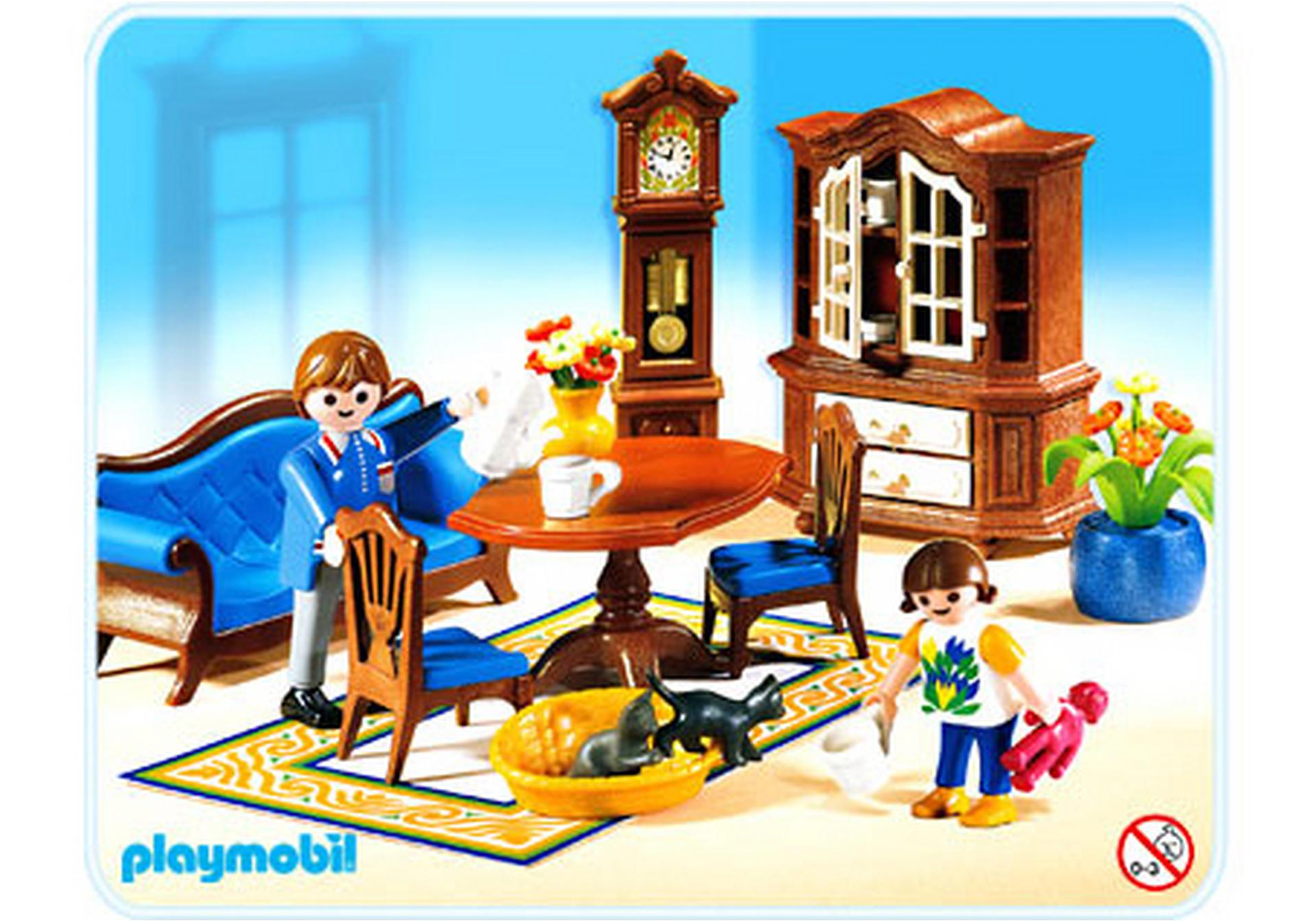 Famille salle manger traditionnelle 5327 a for Salle a manger playmobil 5335