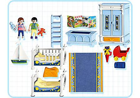 5328-A Kinderzimmer mit Stockbetten detail image 2