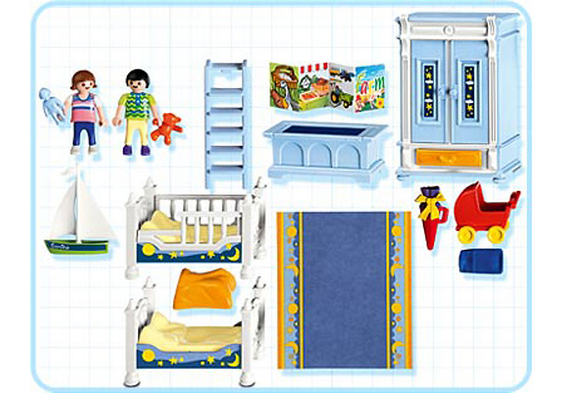5328-A Kinderzimmer mit Stockbetten zoom image2