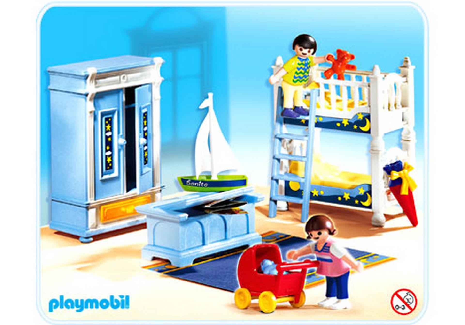 Kinderzimmer mit stockbetten 5328 a playmobil deutschland for Jugendzimmer playmobil