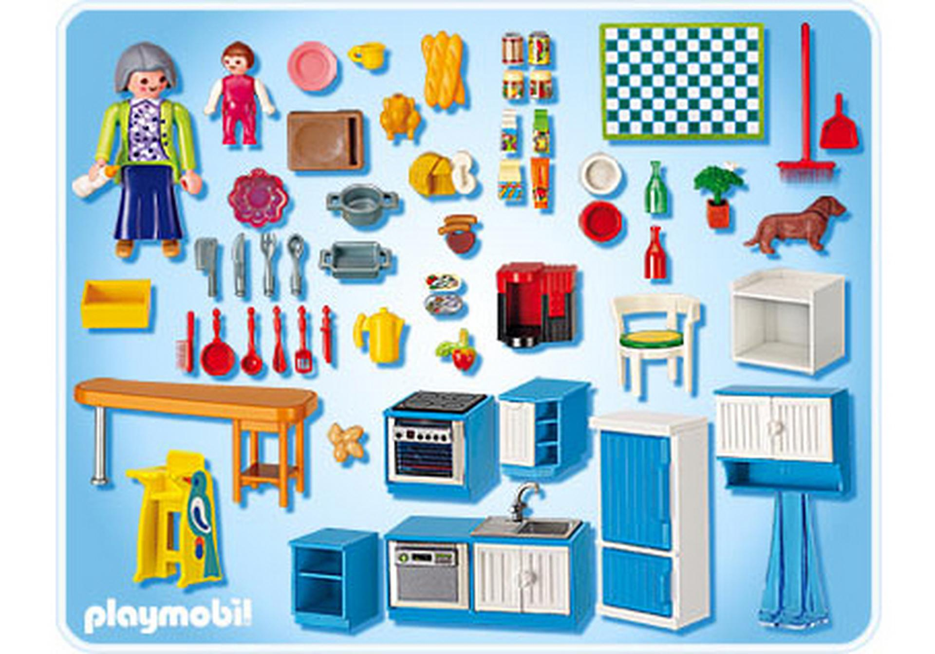 cuisine 5329 a playmobil france. Black Bedroom Furniture Sets. Home Design Ideas