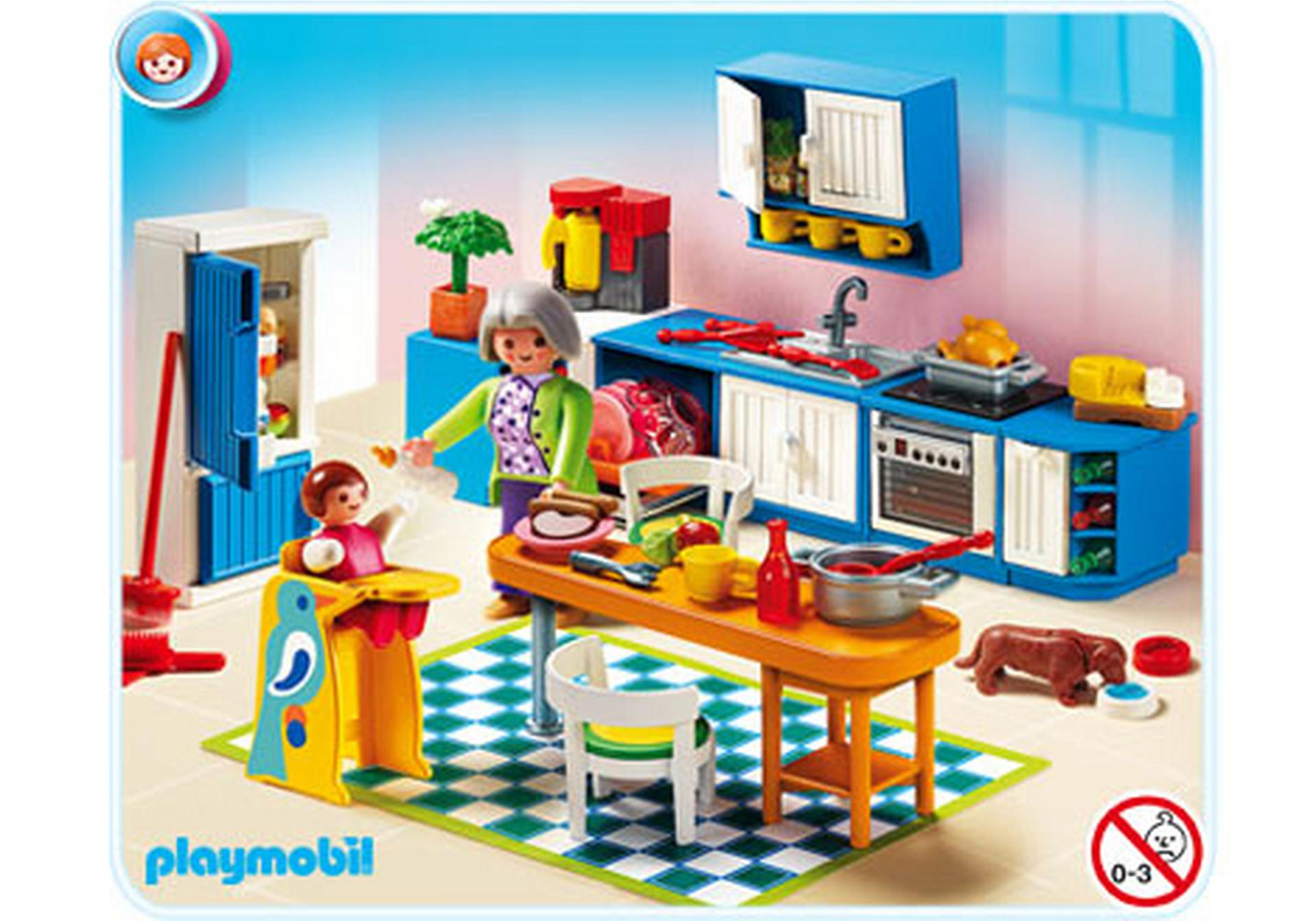 Cuisine 5329 a playmobil france for Playmobil cuisine 5329