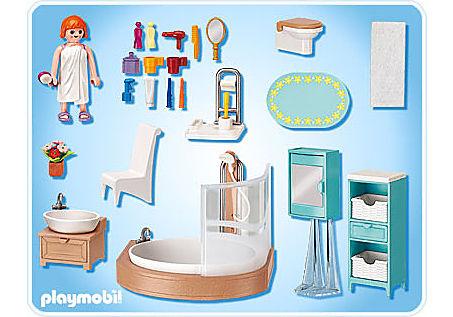 5330-A Salle de bains avec baignoire et pare-douche detail image 2