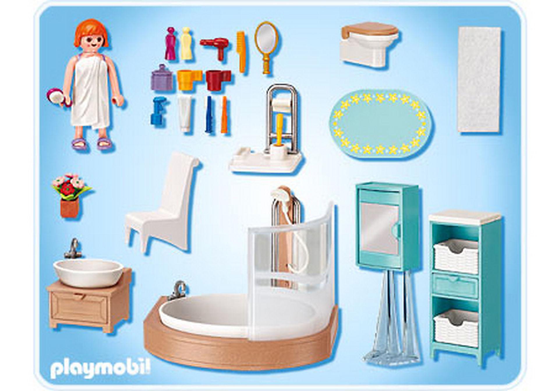 5330-A Salle de bains avec baignoire et pare-douche zoom image2