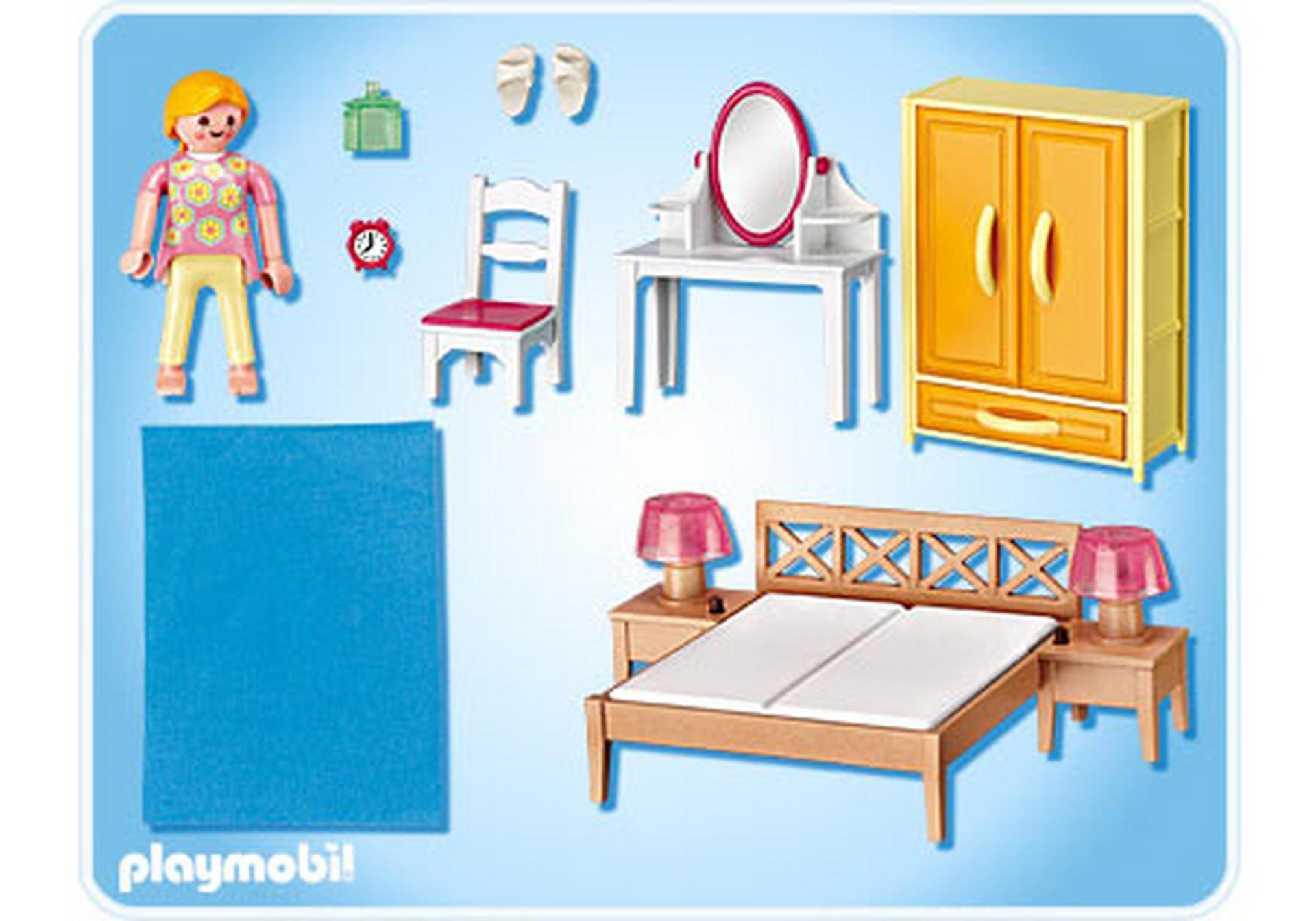 Chambre des parents avec coiffeuse 5331 a playmobil france - Chambre parents playmobil ...