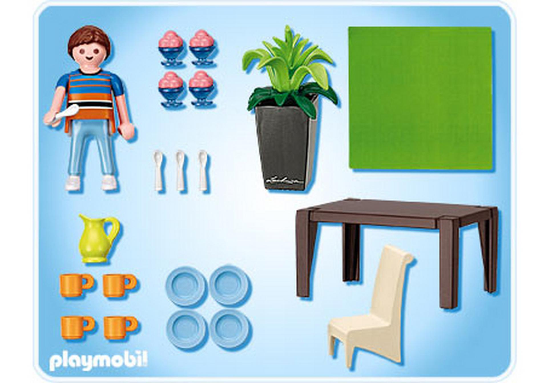 Schickes esszimmer 5335 a playmobil deutschland for Salle a manger playmobil city life