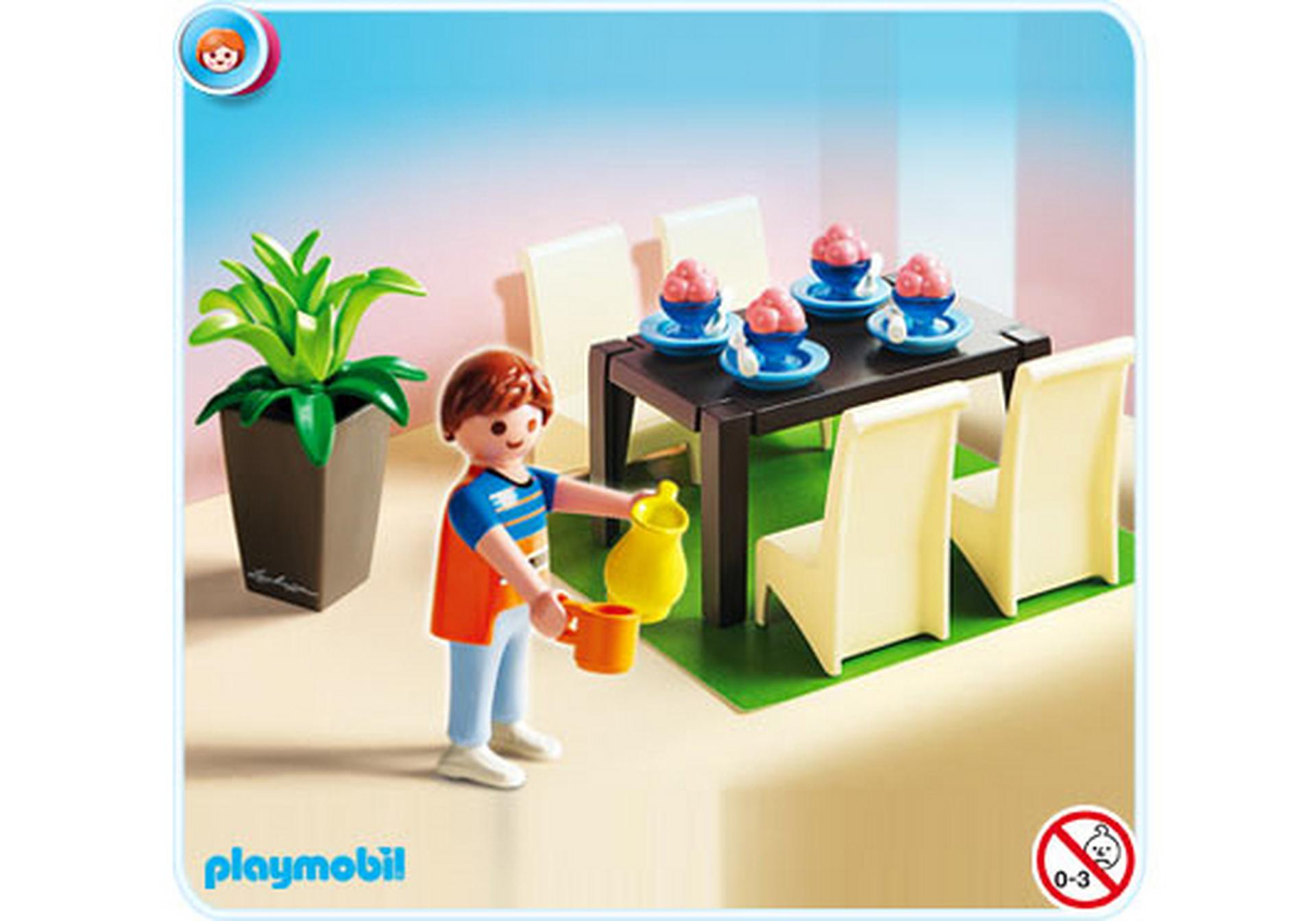 Salle manger 5335 a playmobil france for Salle a manger playmobil city life