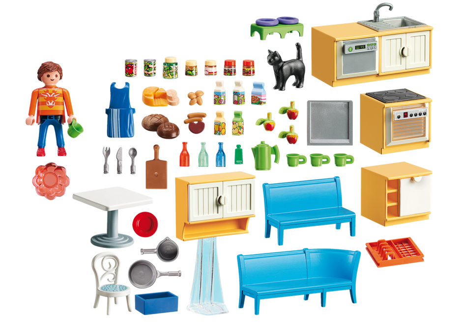 Country kitchen 5336 playmobil united kingdom for Cuisine playmobil