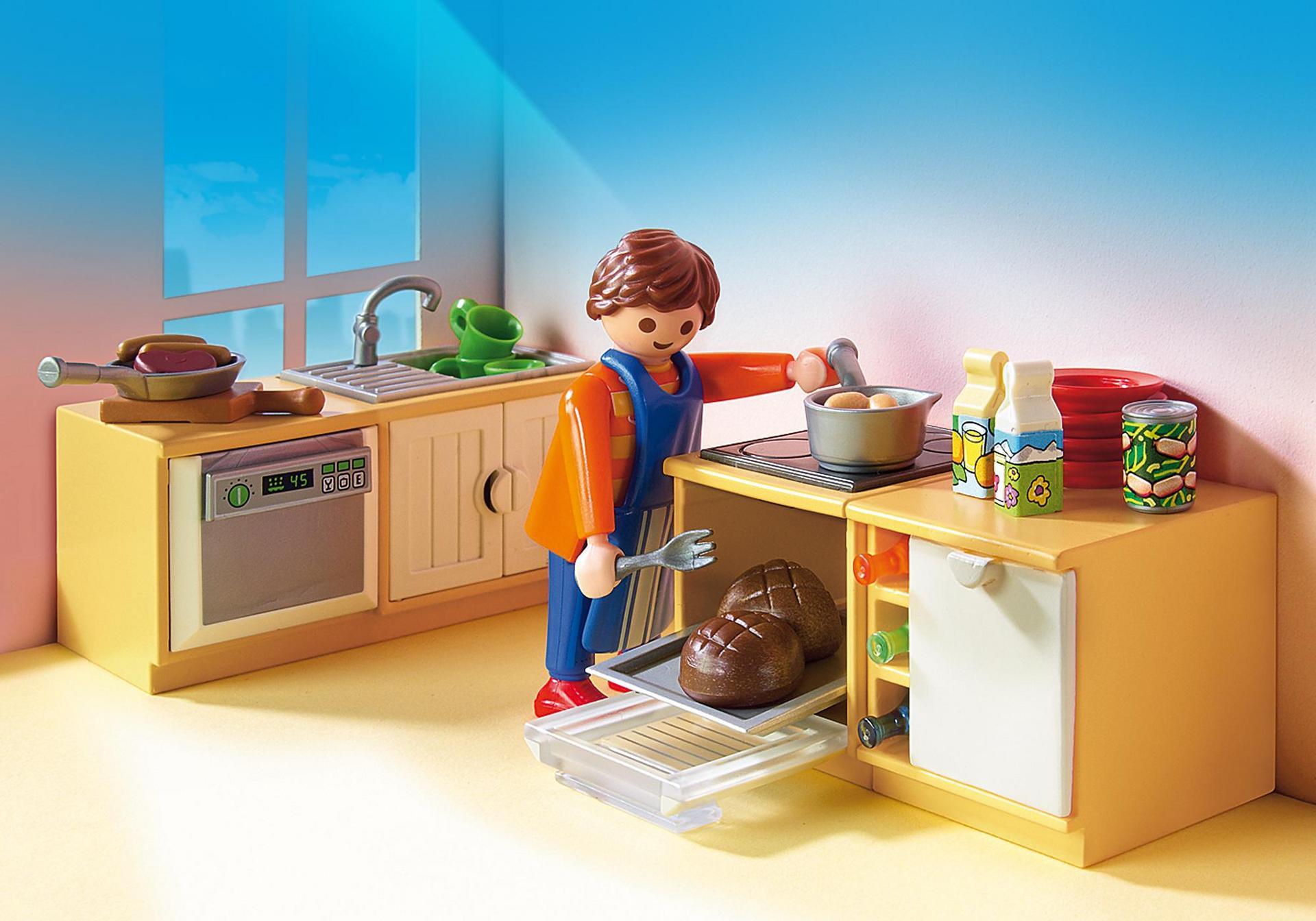 Keuken met zithoek - 5336 - PLAYMOBIL® België