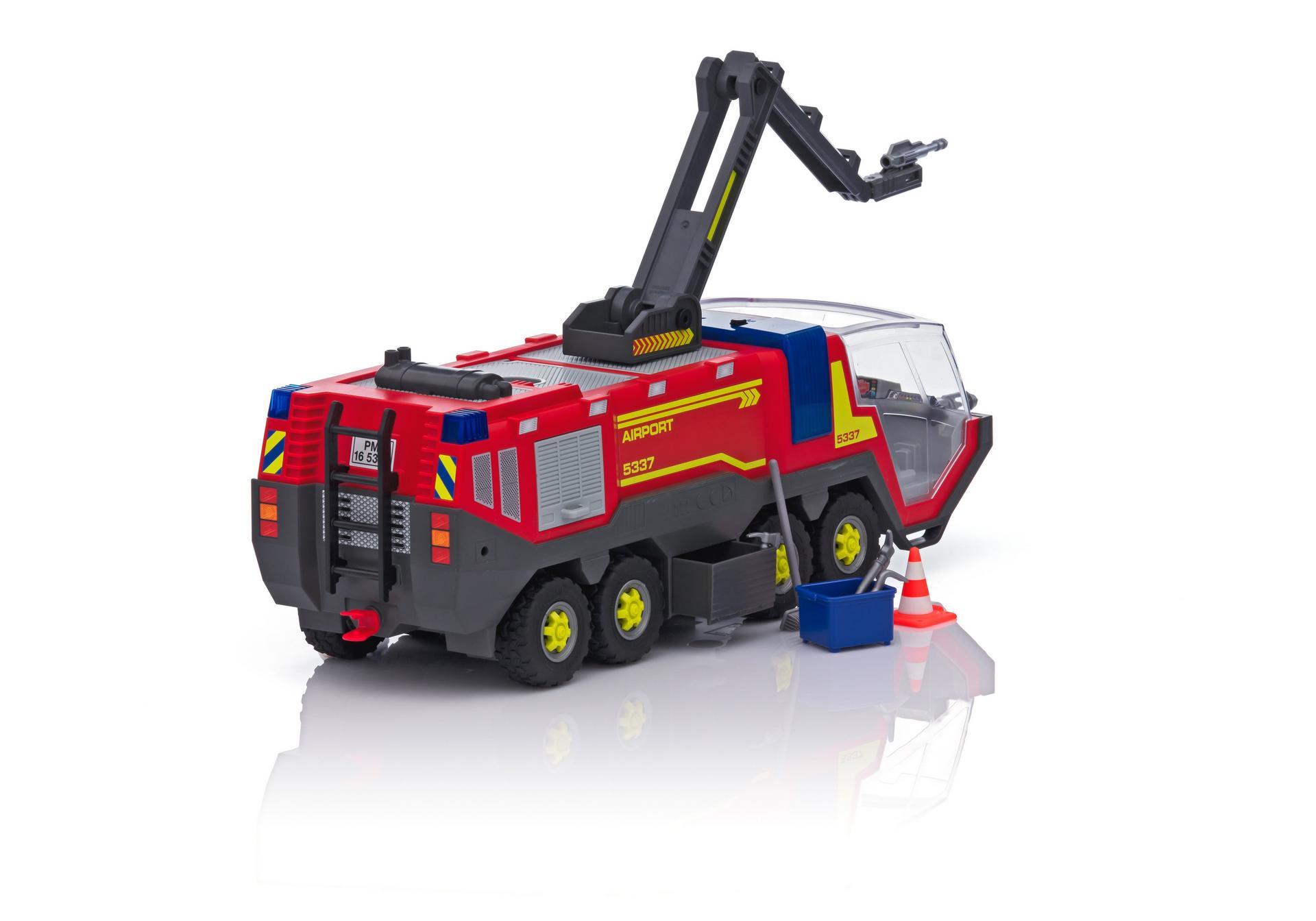 Camión Bomberos Aeropuerto - 5337 - Playmobil® España