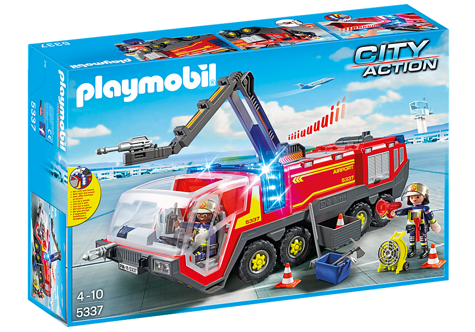 5337 Airport Fire Engine with Lights and Sound detail image 3