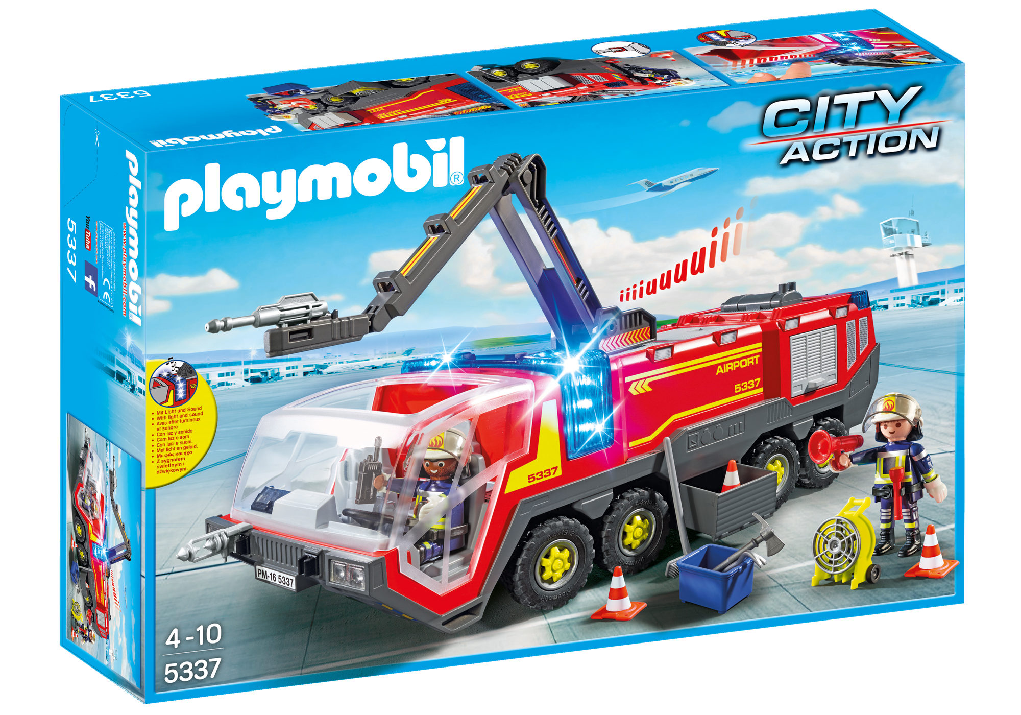 http://media.playmobil.com/i/playmobil/5337_product_box_front/Flughafenlöschfahrzeug mit Licht und Sound