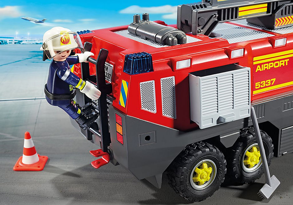 5337 Luchthavenbrandweer met licht en geluid detail image 6