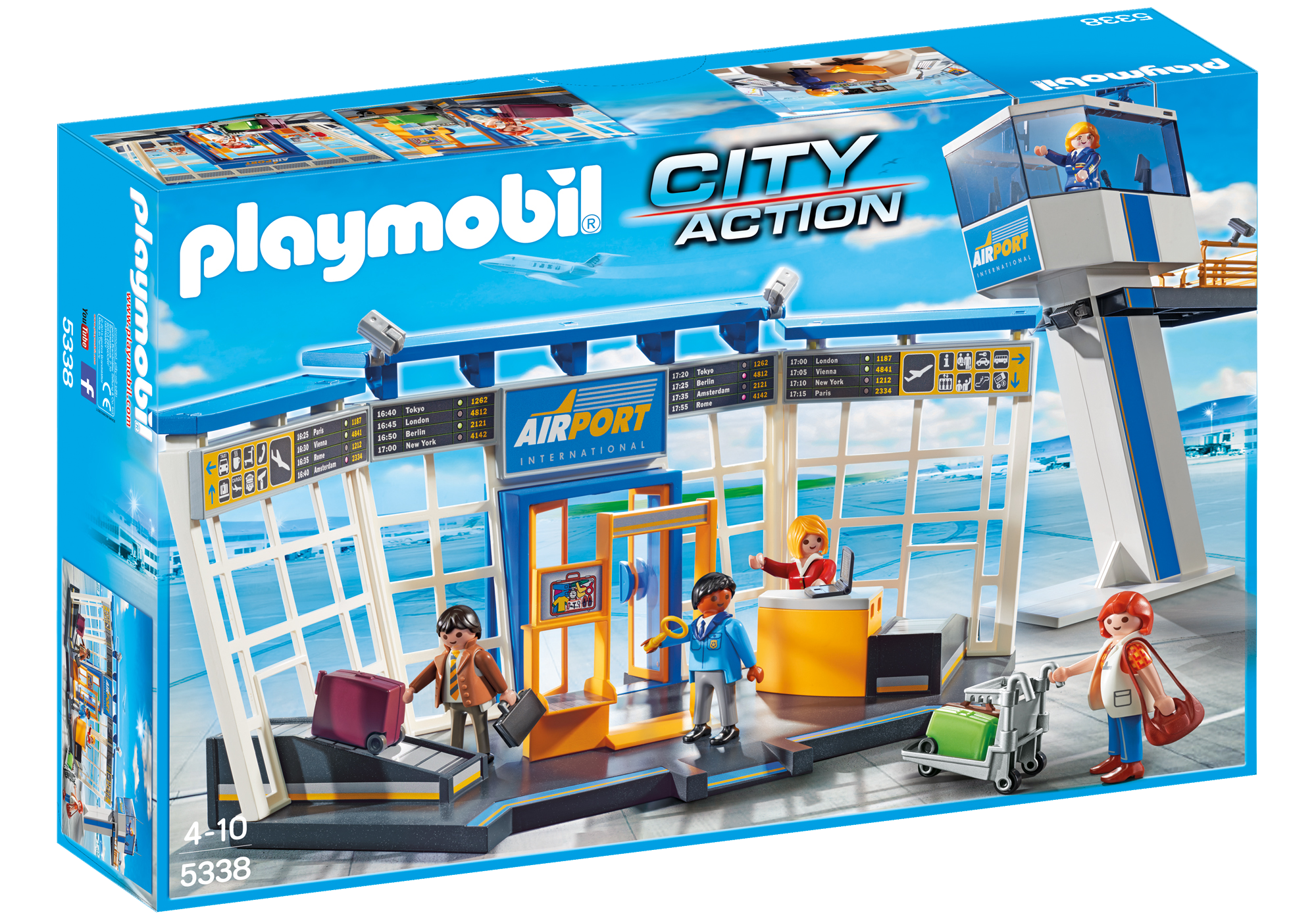 A Playmobil Airport