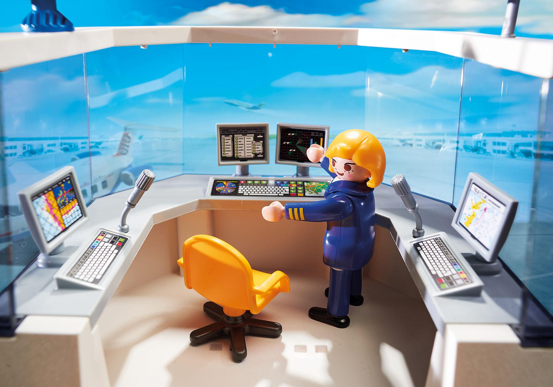 http://media.playmobil.com/i/playmobil/5338_product_extra1/Aéroport avec tour de contrôle