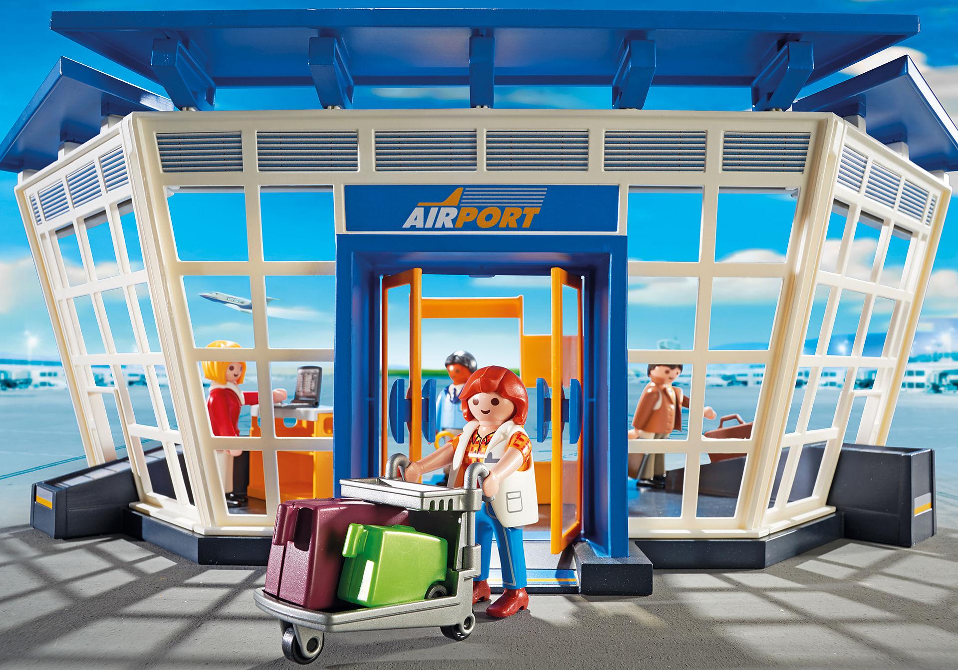 5338 Aéroport avec tour de contrôle zoom image7