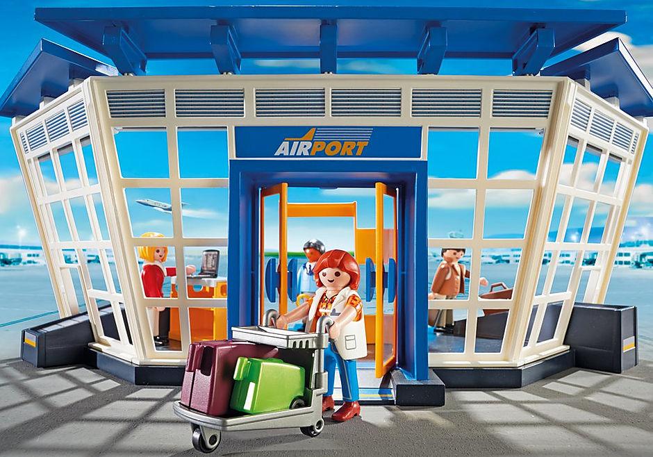 5338 Luchthaven met verkeerstoren detail image 7