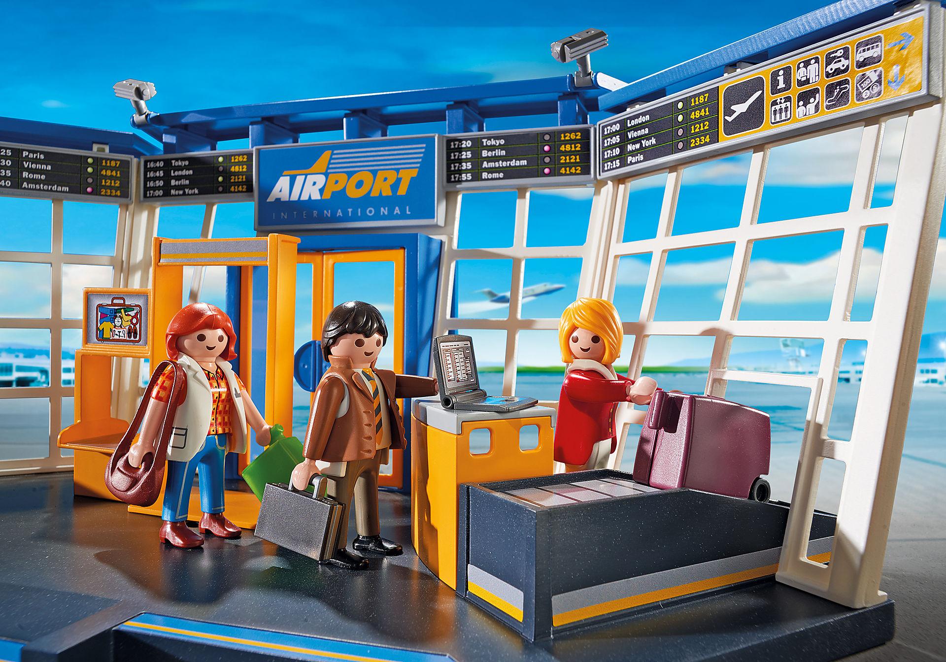 5338 Flygplats med trafikledningstorn zoom image8