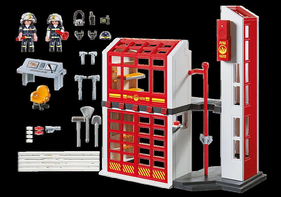 5361 Estación de Bomberos con Alarma  detail image 4