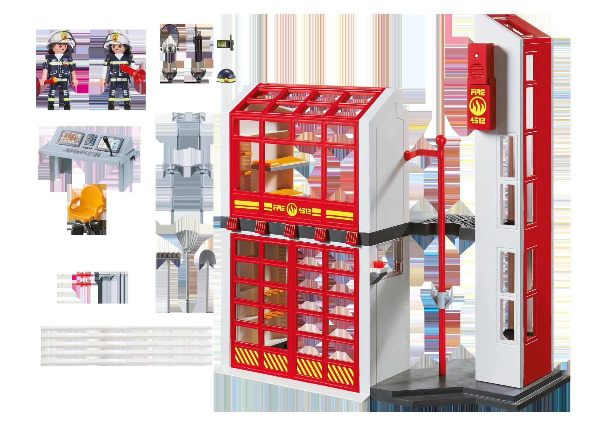 http://media.playmobil.com/i/playmobil/5361_product_box_back/Estación de Bomberos con Alarma