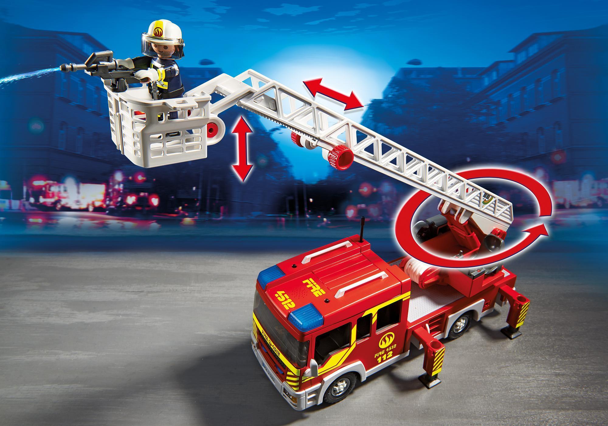 http://media.playmobil.com/i/playmobil/5362_product_extra2/Camión de Bomberos y Escalera con Luces y Sonido