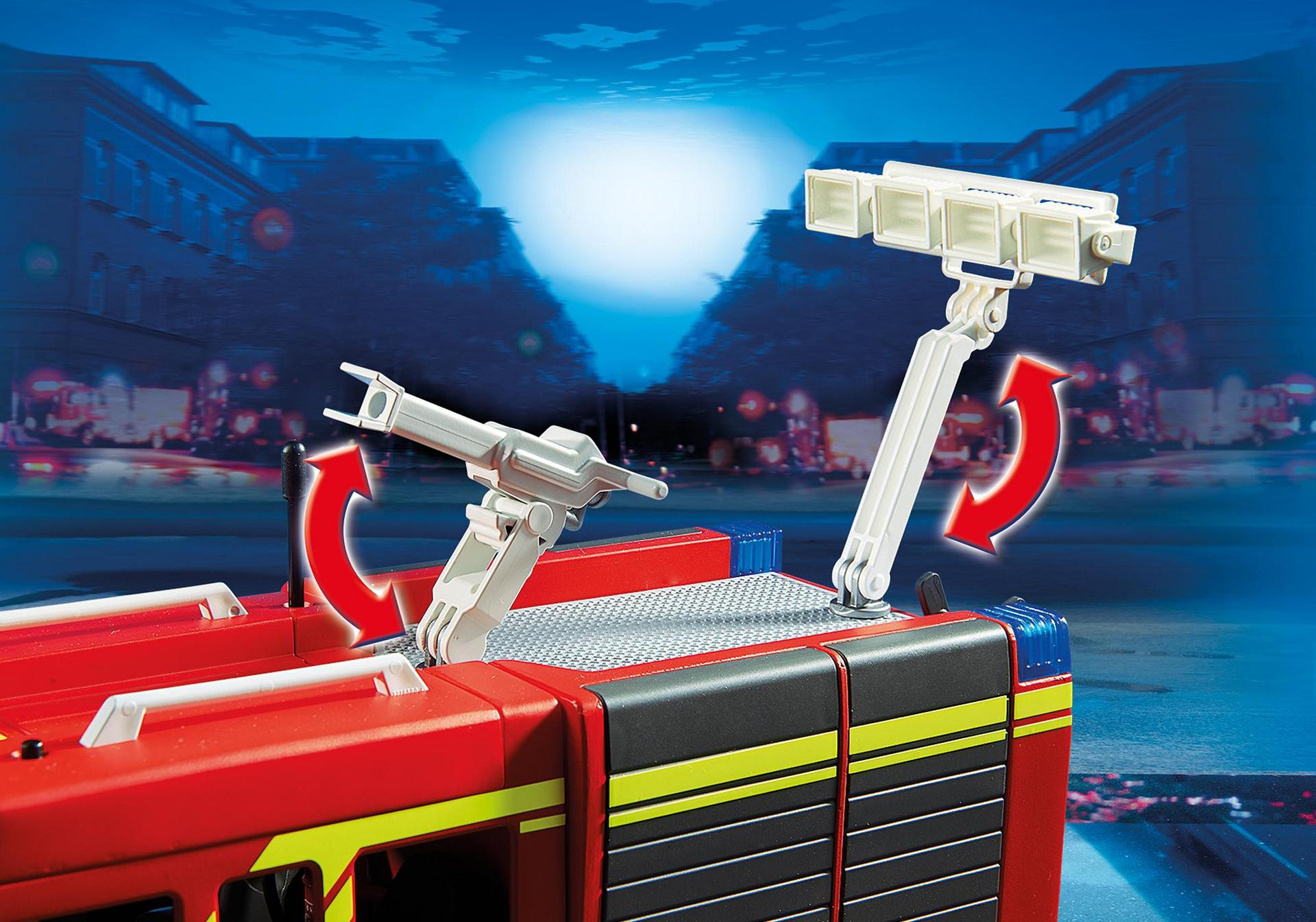 Fire Engine With Lights And Sound 5363 Playmobil