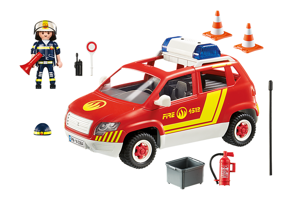 5364 Fire Chief´s Car with Lights and Sound detail image 4