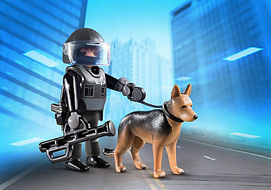 5369 Policía Especial con Perro