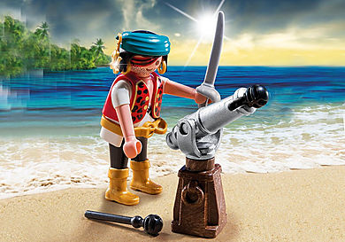 5378 Pirat mit Kanone