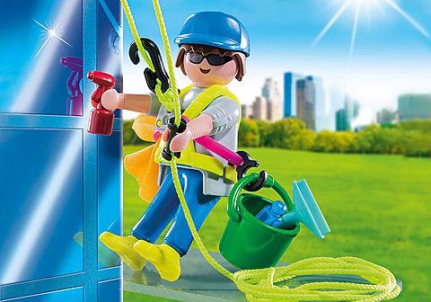 5379 Laveur de vitres