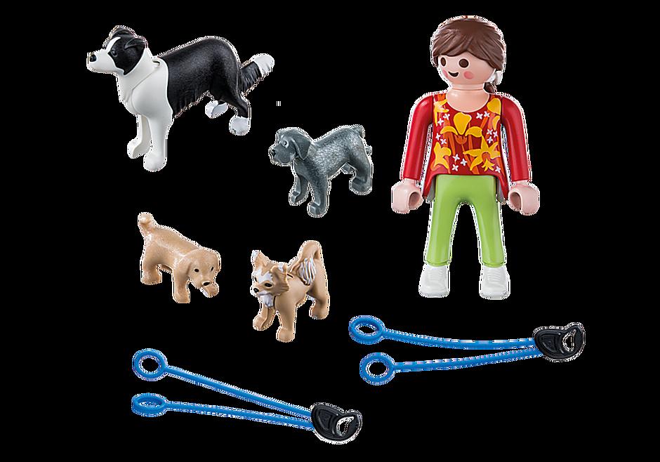 5380 Mujer con Perros detail image 3