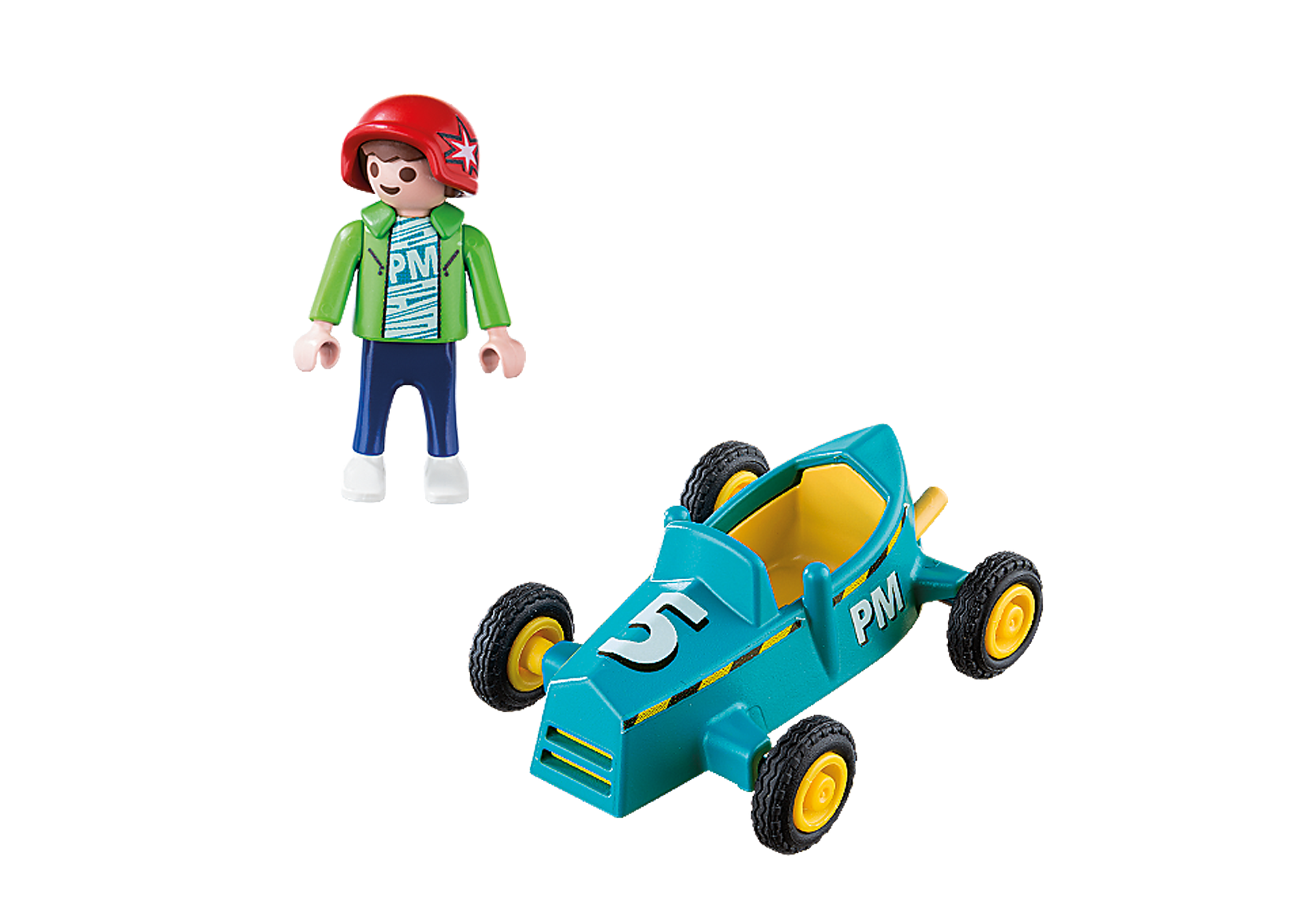 5382 Boy with Go-Kart zoom image3