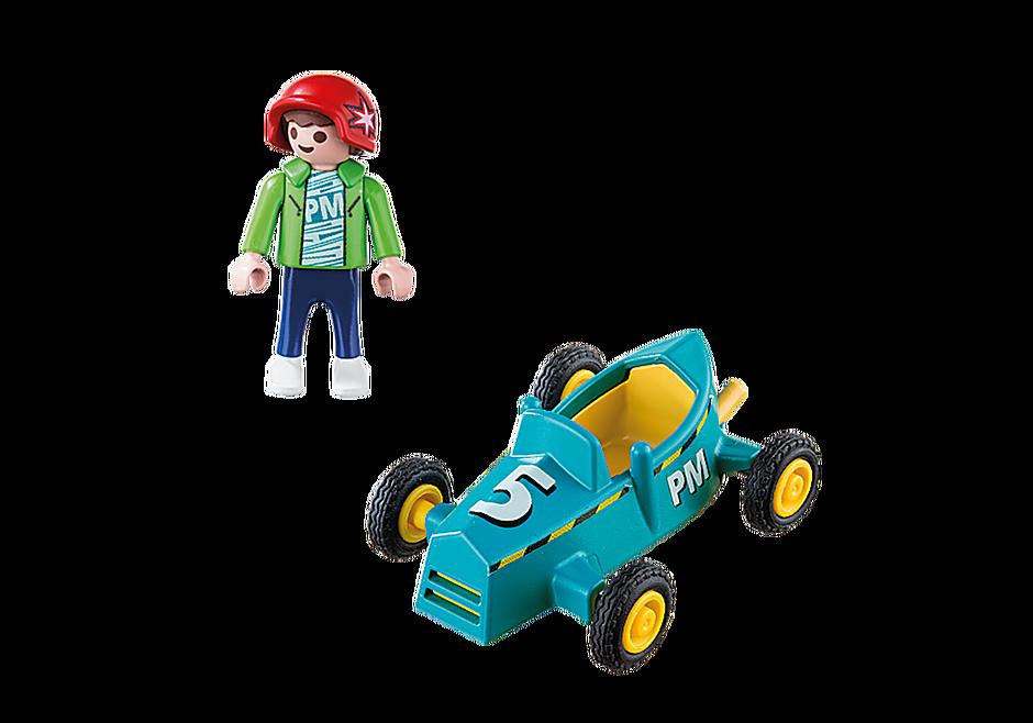 5382 Pojke med kartvagn detail image 3