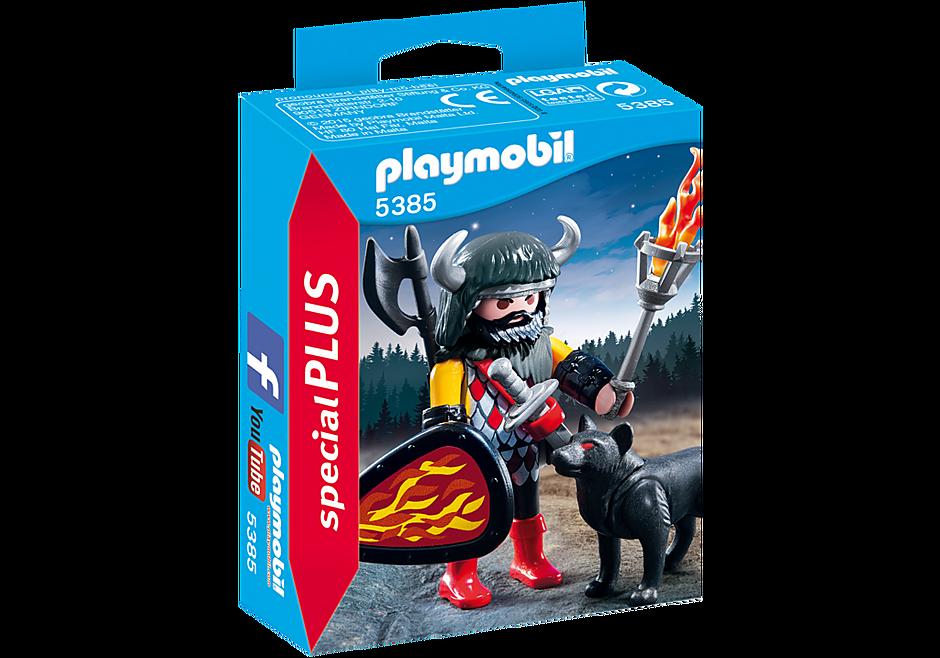 http://media.playmobil.com/i/playmobil/5385_product_box_front/Экстра-набор: Воин Волка