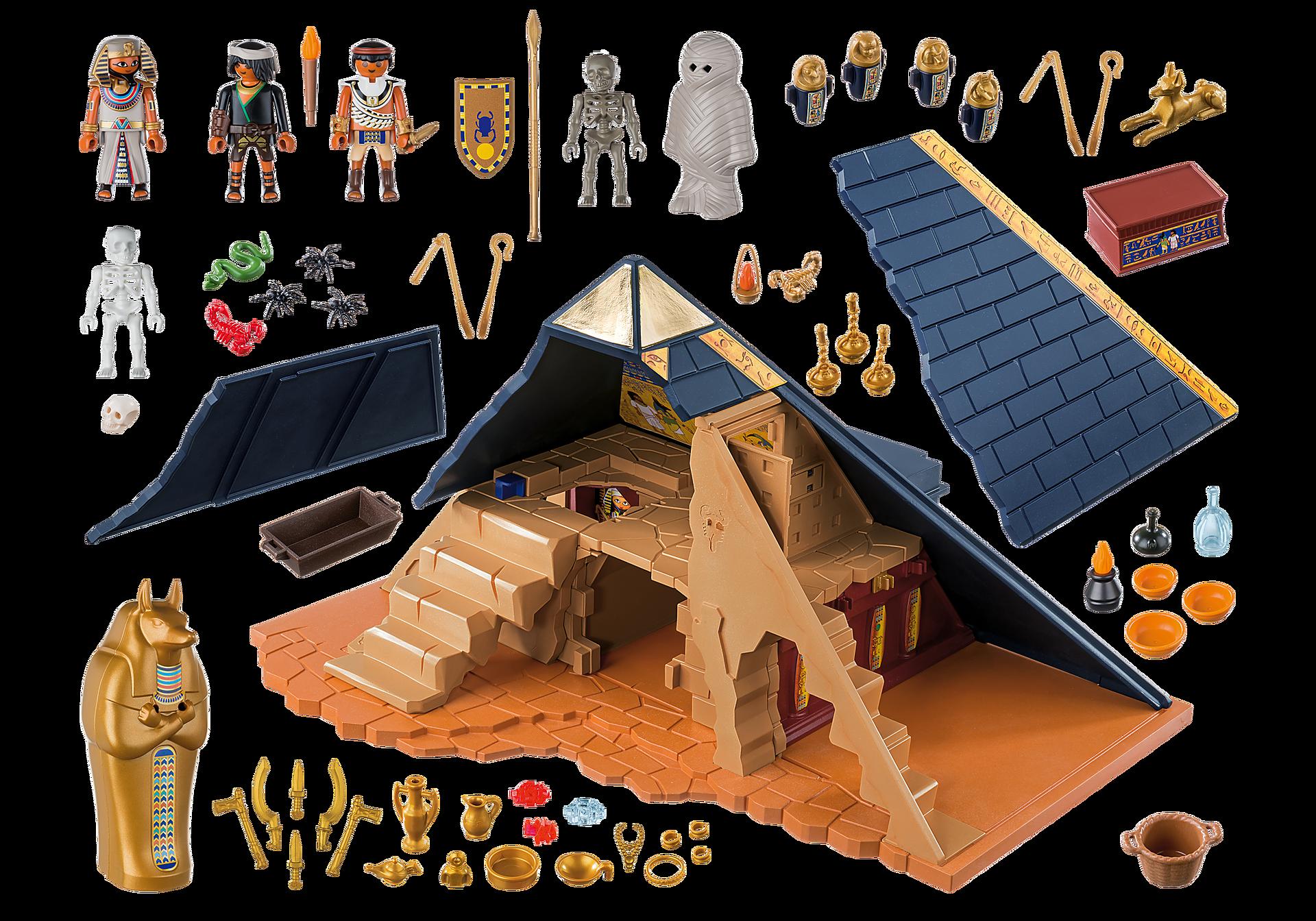 5386 Римляне и Египтяне: Пирамида Фараона zoom image5