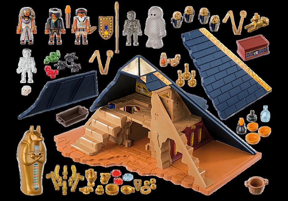 5386 Piramide van de farao detail image 5