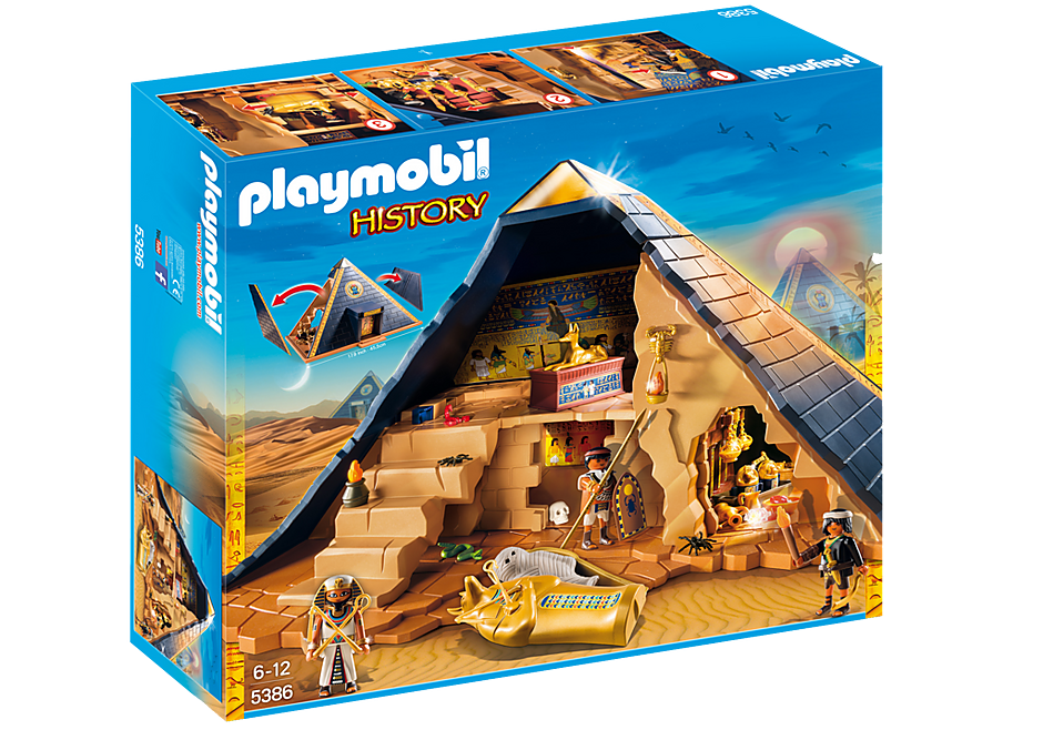 5386 Faraos pyramid detail image 4