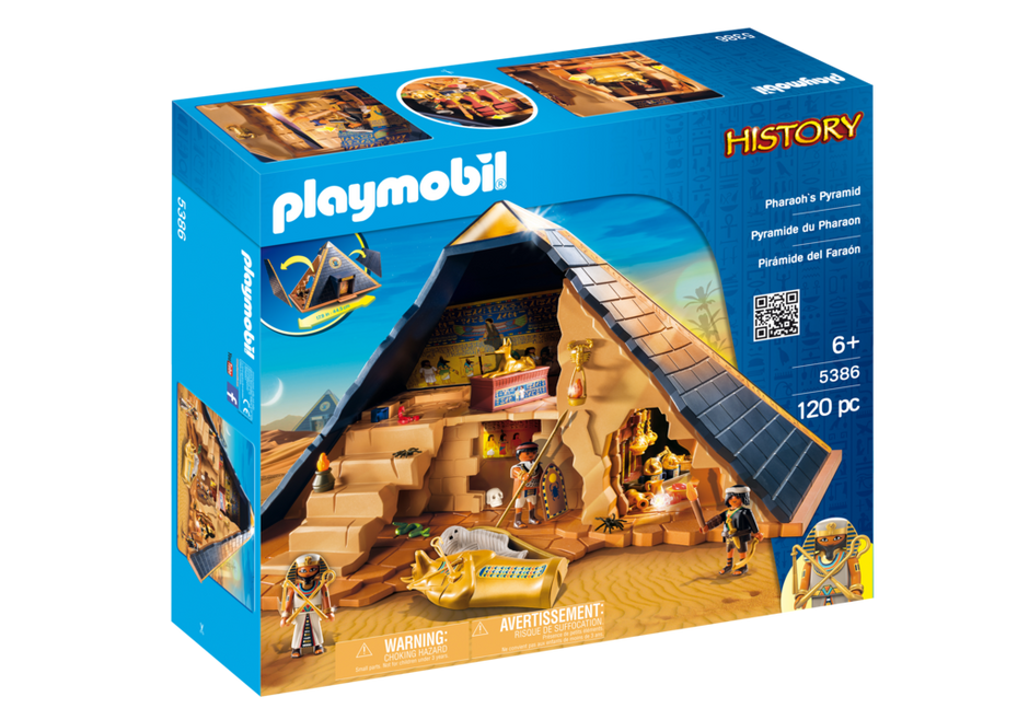 pharaoh 39 s pyramid 5386 playmobil usa. Black Bedroom Furniture Sets. Home Design Ideas