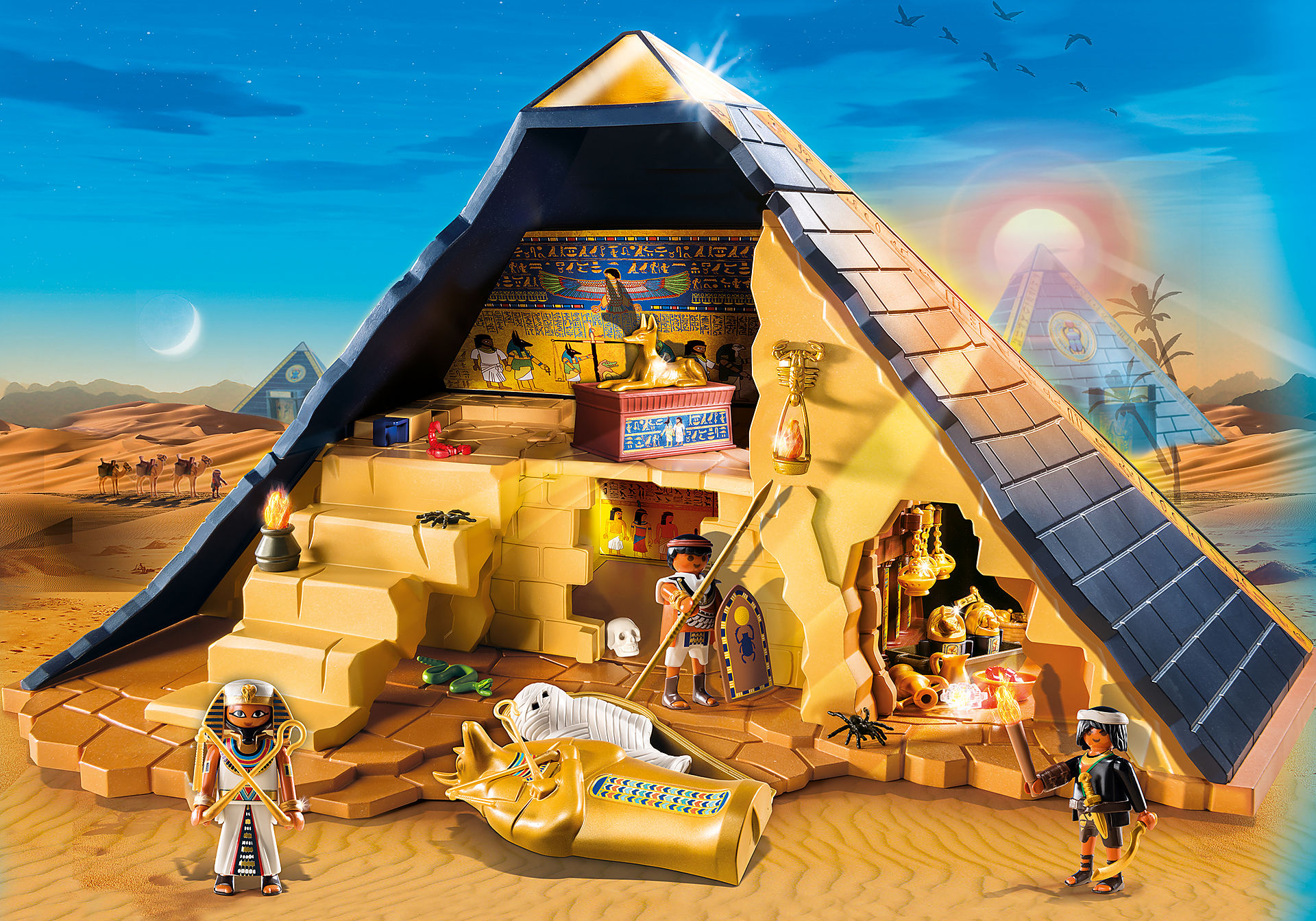 http://media.playmobil.com/i/playmobil/5386_product_detail/Римляне и Египтяне: Пирамида Фараона