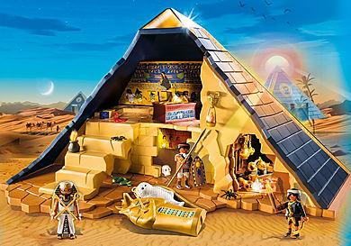 5386 Римляне и Египтяне: Пирамида Фараона