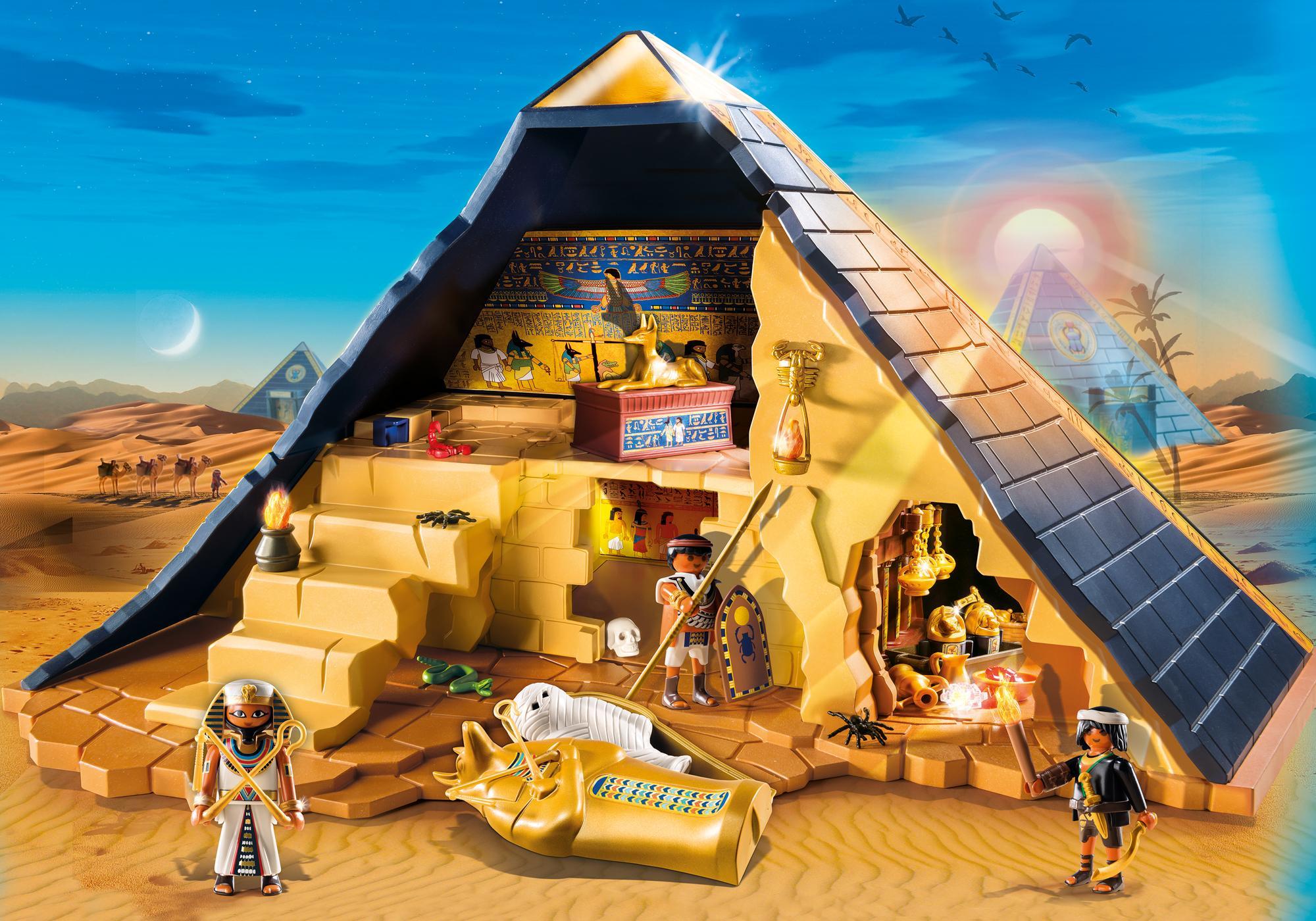 5386_product_detail/Римляне и Египтяне: Пирамида Фараона