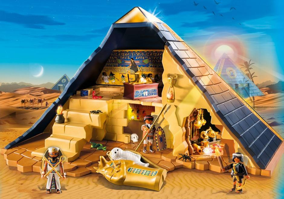 Pyramide du pharaon 5386 playmobil france - Egypte playmobil ...