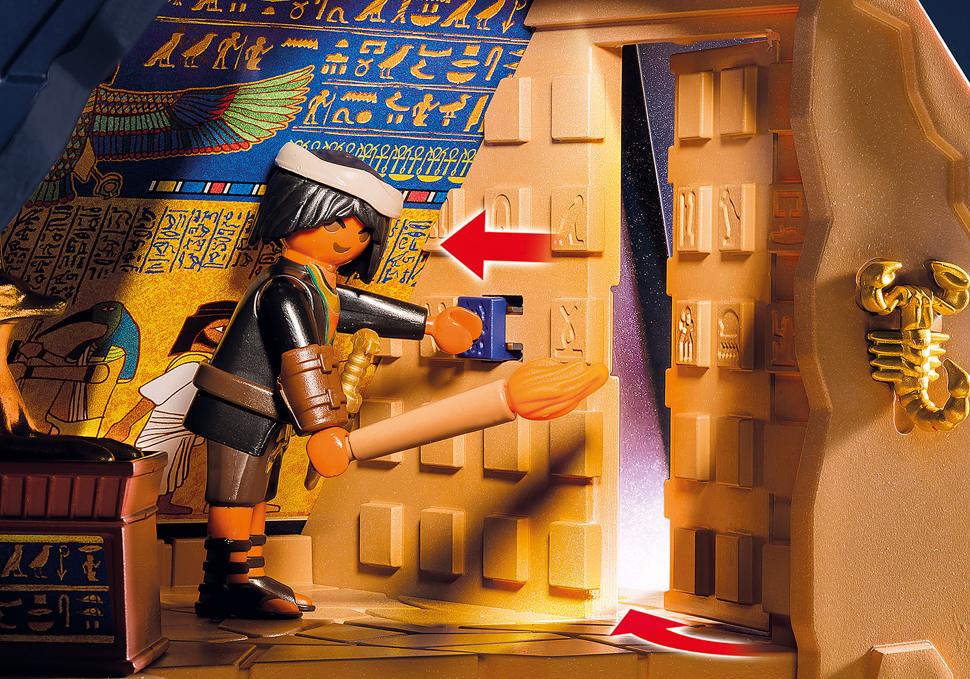 http://media.playmobil.com/i/playmobil/5386_product_extra3/Римляне и Египтяне: Пирамида Фараона