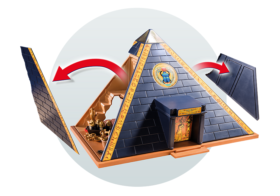 5386 Faraos pyramid detail image 11