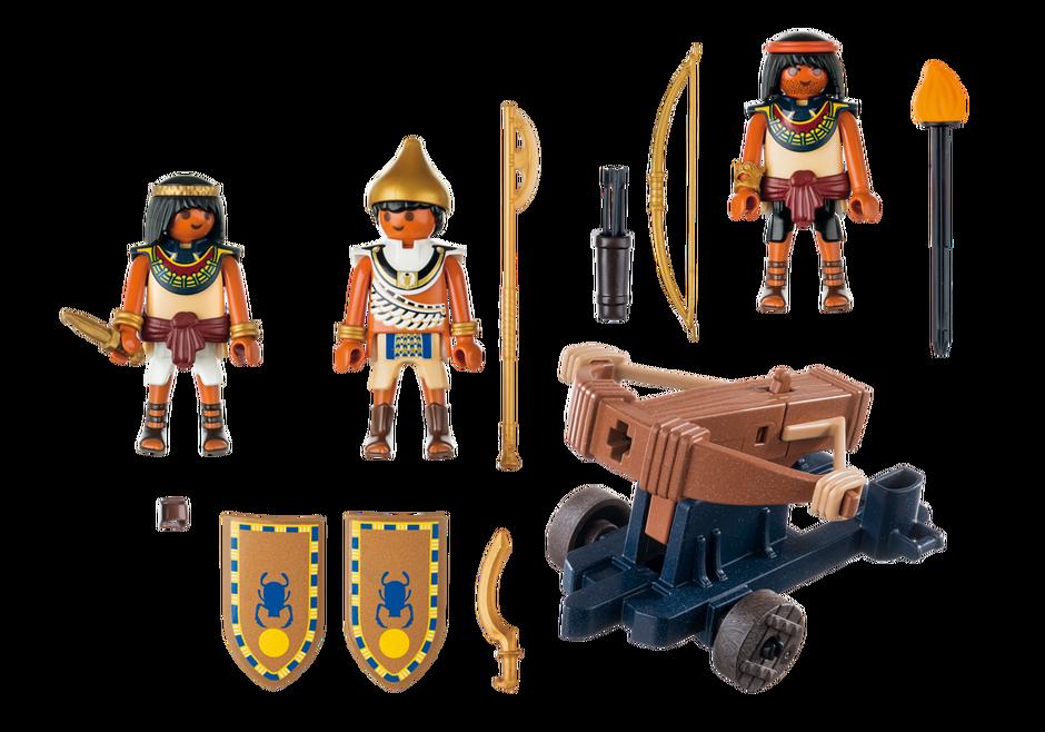 Soldats du pharaon avec baliste 5388 playmobil france - Egypte playmobil ...