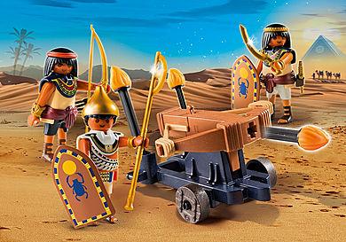 5388 Римляне и Египтяне: Египетский солдат с Баллистой
