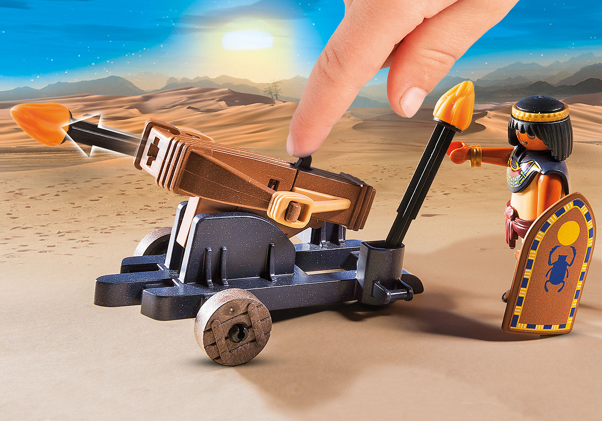 http://media.playmobil.com/i/playmobil/5388_product_extra1/Римляне и Египтяне: Египетский солдат с Баллистой