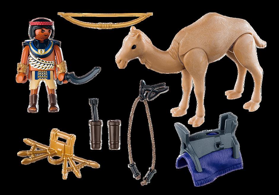 http://media.playmobil.com/i/playmobil/5389_product_box_back/Римляне и Египтяне: Египетский воин с верблюдом