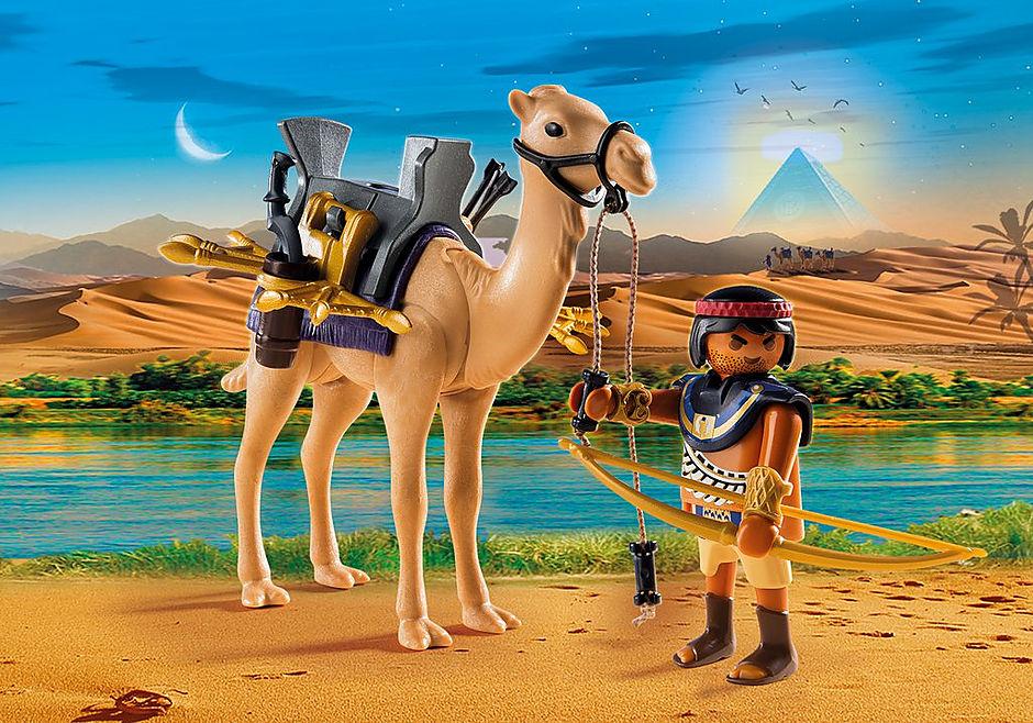 http://media.playmobil.com/i/playmobil/5389_product_detail/Римляне и Египтяне: Египетский воин с верблюдом