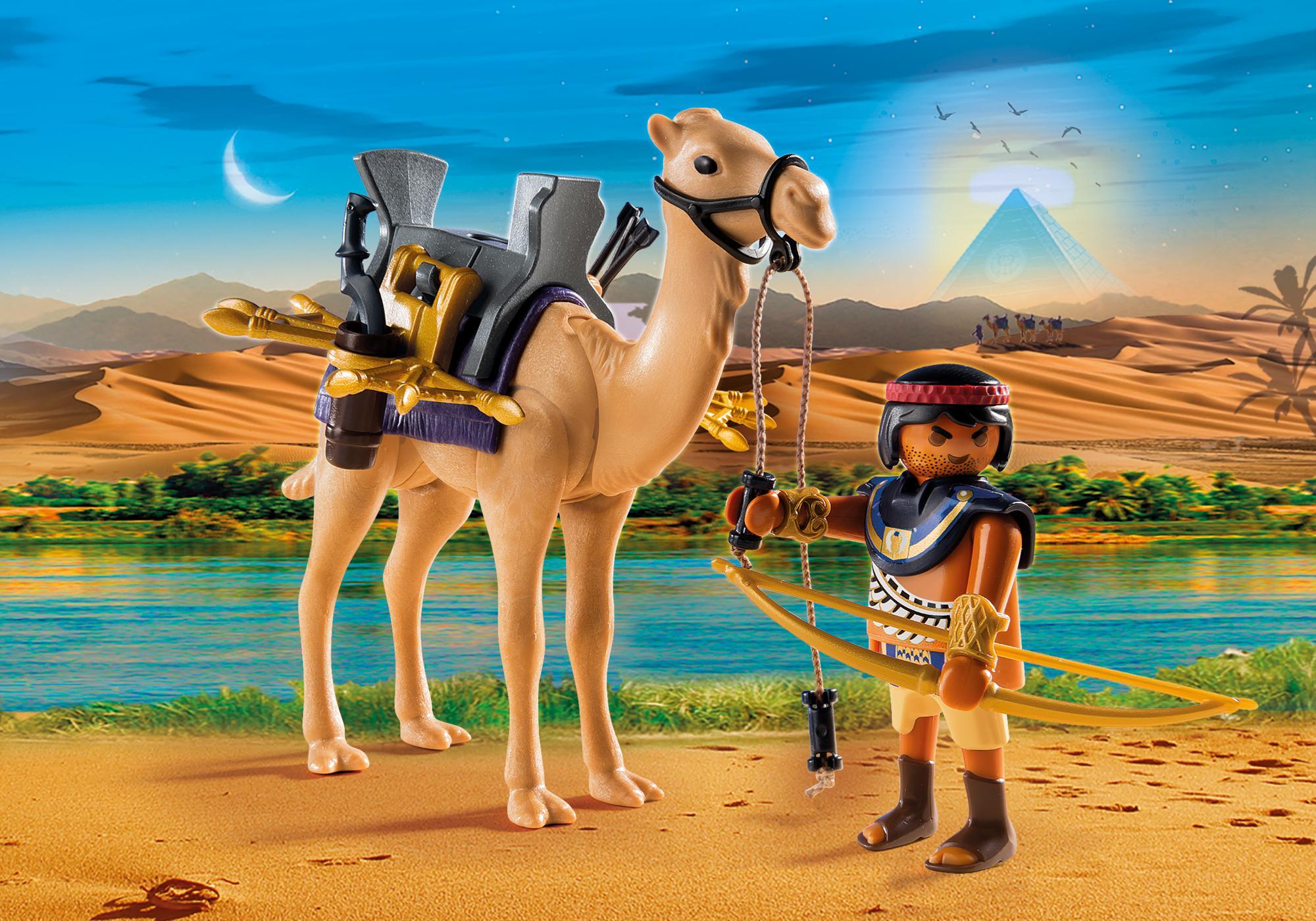 5389_product_detail/Римляне и Египтяне: Египетский воин с верблюдом